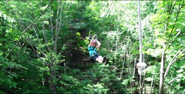 Shannon Ziplining