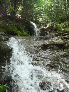 Sterling Pond Trail Waterfall, Vermont