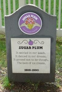 Ben & Jerrys Flavor Grave Yard