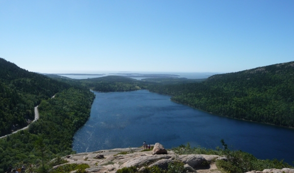 Jordan Pond as Seen from Bubble Rock, Acadia National Park