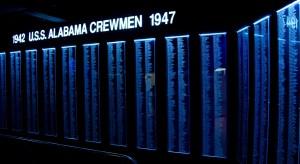 USS Alabama, Mobile