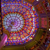 Photo of the Day: Stained Glass Dome