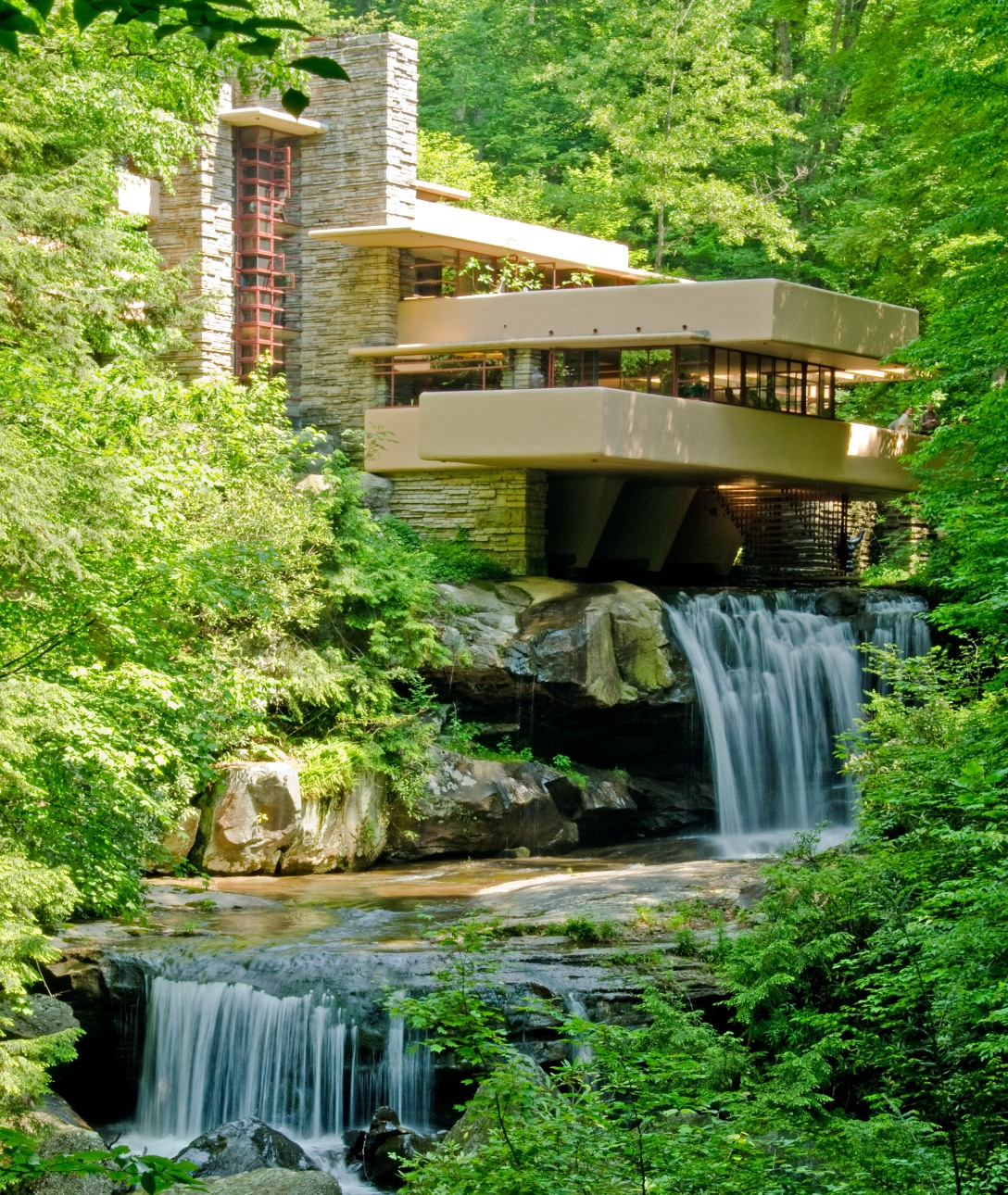 fallingwater first impressions everywhere once. Black Bedroom Furniture Sets. Home Design Ideas