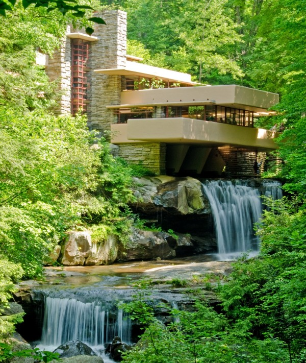 Fallingwater first impressions everywhere once for Architettura wright