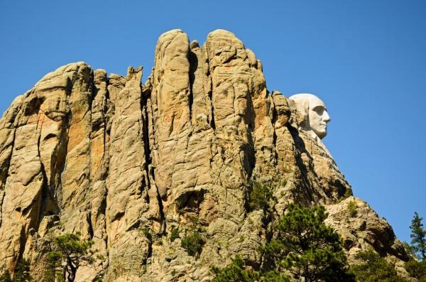 Mount Rushmore George Washington 2