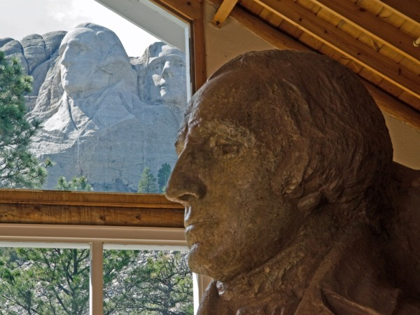 Mount Rushmore George Washington Profile
