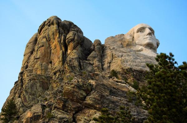 Mount Rushmore George Washington