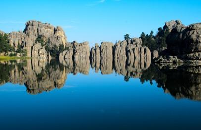 Sylvan Lake, Custer State Park, South Dakota