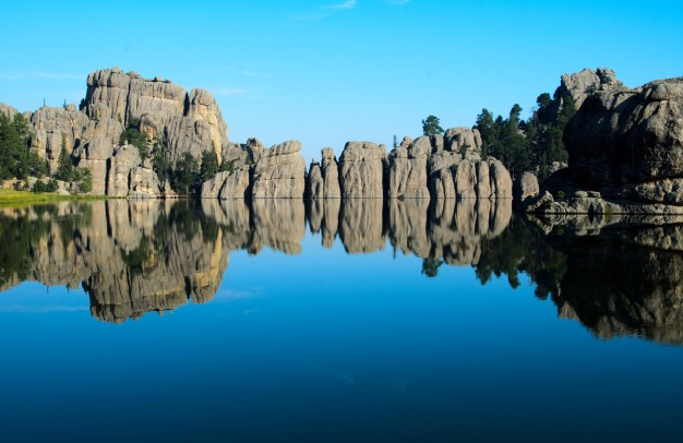 Sylvan Lake, Custer State Park, South Dakota