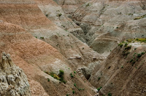 Badlands National Park - Erosion