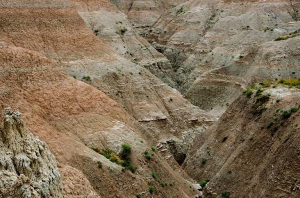 Badlands National Park - Erosion