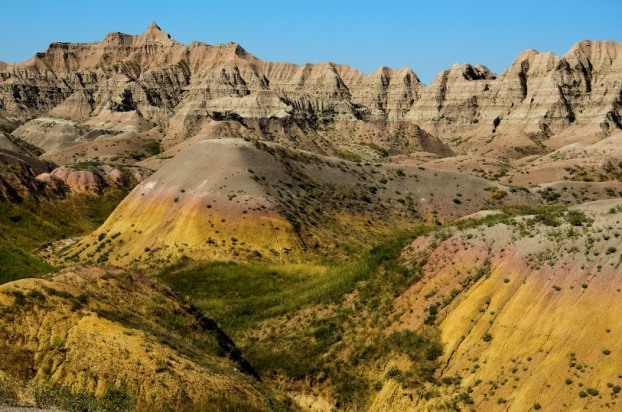 Badlands National Park - Yellow Mounds