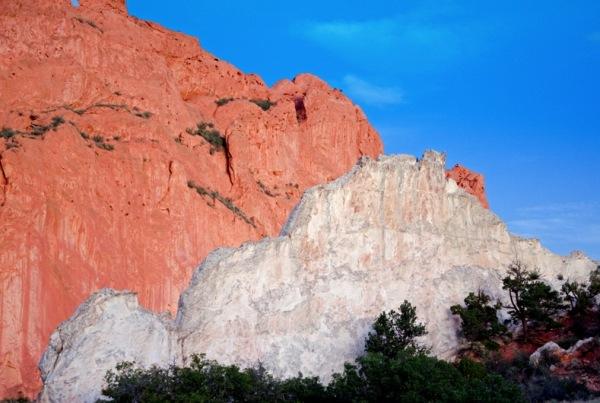 Garden of the Gods - White Rock