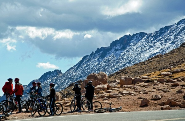 Pikes Peak Bike Ride