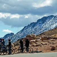 Speed and Splendor Down Pikes Peak