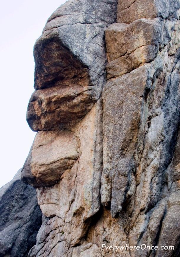 Stone Gollum Custer State Park