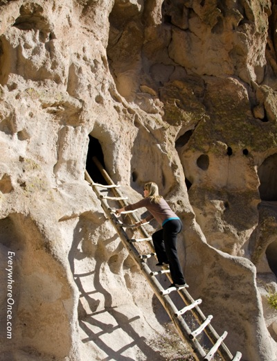 Bandelier National Monument Ladders