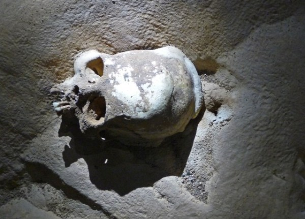 Actun Tunichil Muknal, Skull, ATM