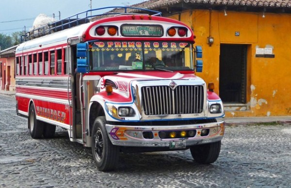 Chicken Bus - Guatemala