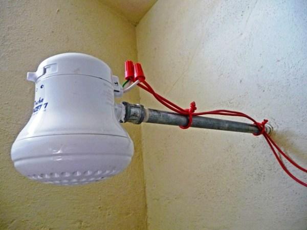 Hot water in Guatemala