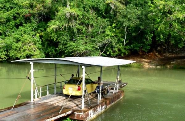 Mopan Ferry, Xunantunich, Cayo, Belize