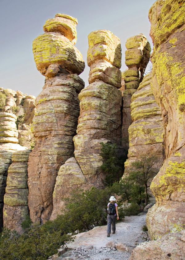 Chiricahua National Monument Echo Canyon Loop