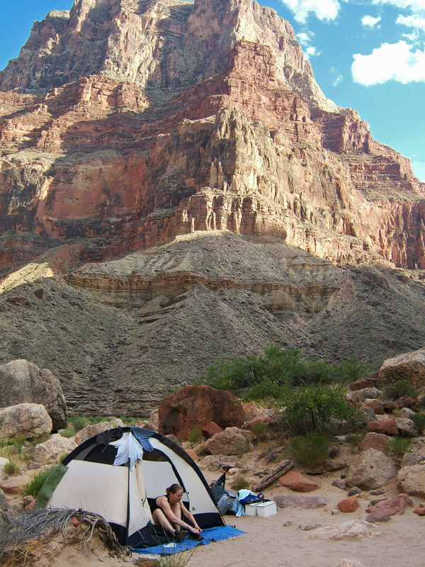Grand Canyon Campsite