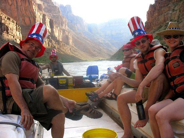 Grand Canyon Raft