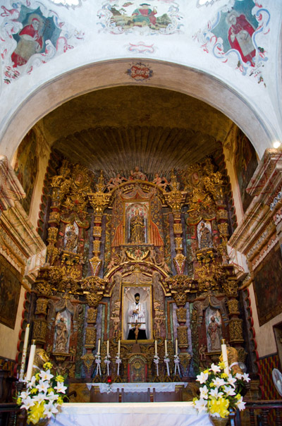 Mission San Xavier del Bac Interior
