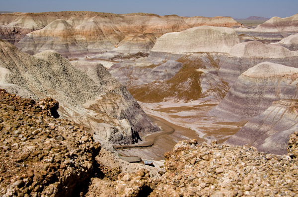Blue Mesa, Petrified Forest National Park