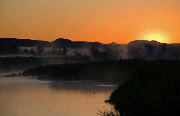Sunrise Over Theodore Roosevelt National Park