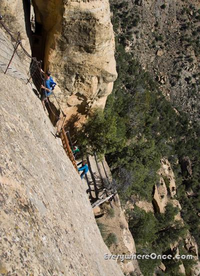 Balcony House Climb Mesa Verde