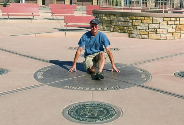 American Southwest Tour | Far Horizons |Four Corners National Park Map