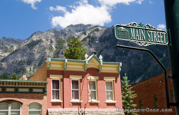 Ouray Colorado Main Street