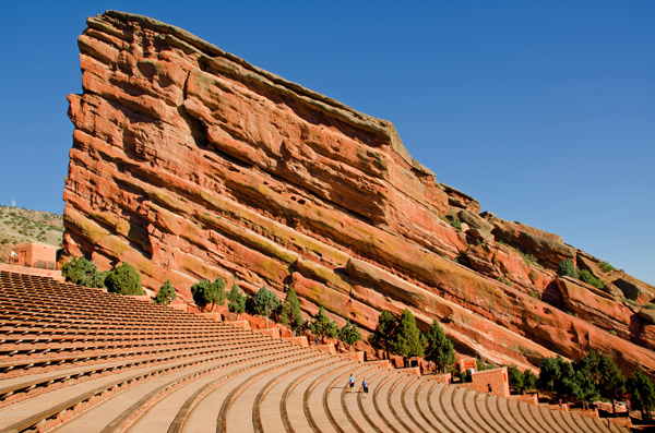 Red Rocks Amphitheater, Red Rocks Park, Morrison, CO