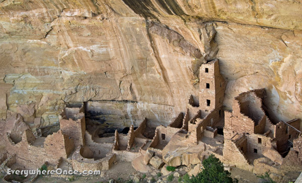 Mesa Verde National Park, Tower House, Cliff Dwelling