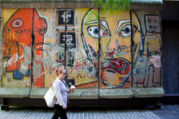 Berlin Wall New York City