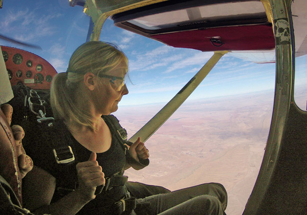 Skydive, First Jump, Moab, Tandem, Adventure Travel
