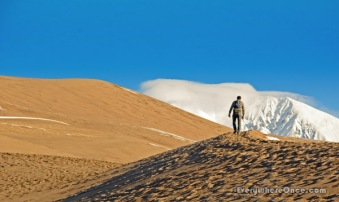 Hiking Great Sand Dunes National Park, Colorado