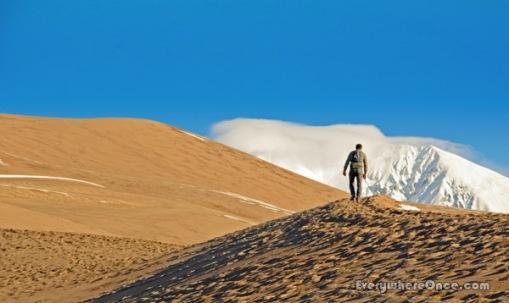 Hiking Great Sand Dunes National Park, Colorado