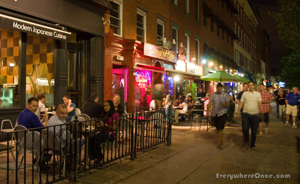 Hoboken New Jersey Night Life