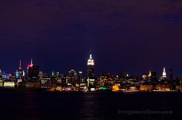 New York City Nighttime Skyline