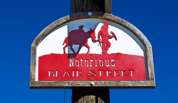 Notorious Blair Street, Silverton Colorado