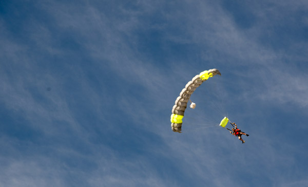 Parachute, Skydive, Adventure Travel