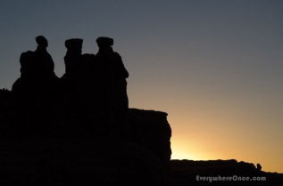 The Three Gossips, Arches National Park, Utah