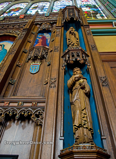 Cathedral of the Madeleine Woodwork