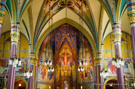 Cathedral of the Madeleine Interior, Salt Lake City, Utah