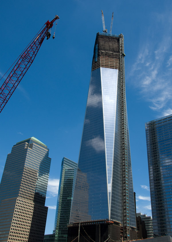 Freedom Tower Rising, Ground Zero New York City