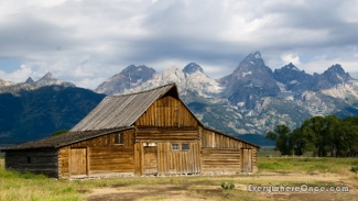 Grand Teton National Park John Moulton Barn Mormon Row