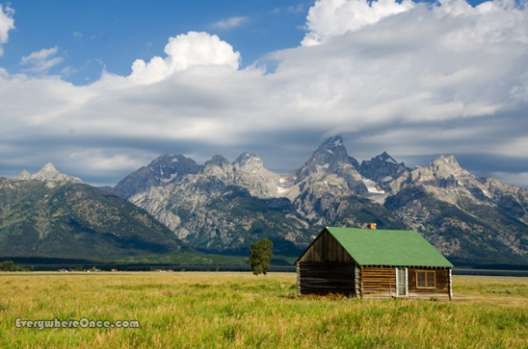 Grand Teton National Park Mormon Row